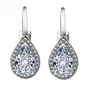 Sterling Silver Water Drop Earrings